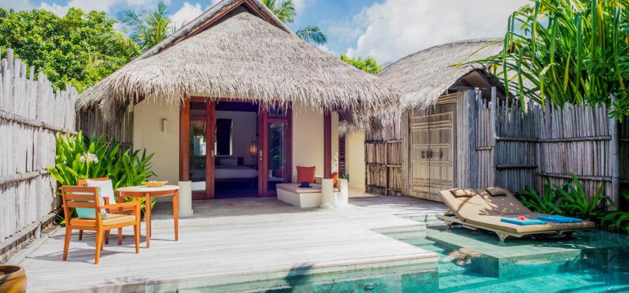 Anantara Dhigu Pool Villa Pool