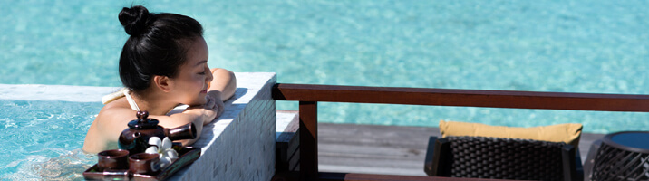 Anantara Dhigu Spa Pool Relax