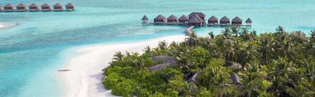 Anantara Dhigu Strand und Insel