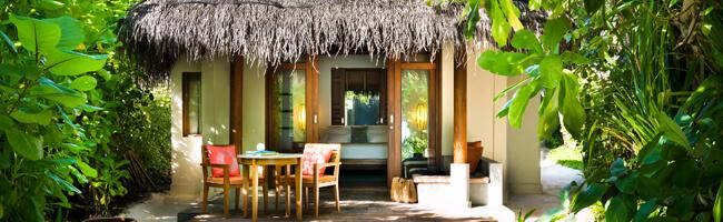 Anantara Dhigu Sunrise Beach Villa von außen