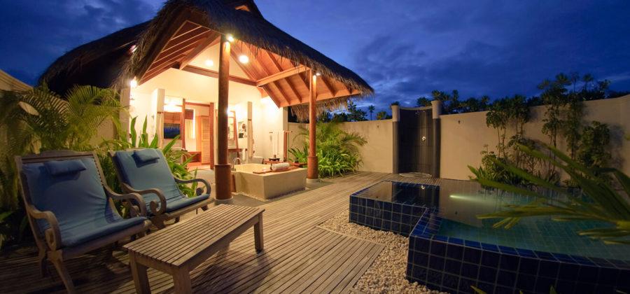Anantara Dhigu Sunset Pool Villa