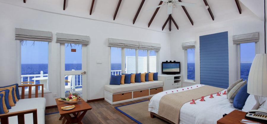 Centara Grand Island Deluxe Family Villa Bett