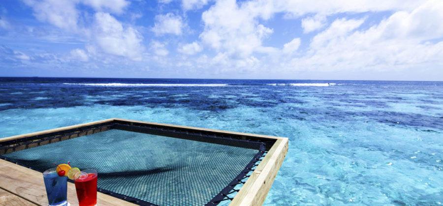 Centara Grand Island Ocean Water Villas Hängematte