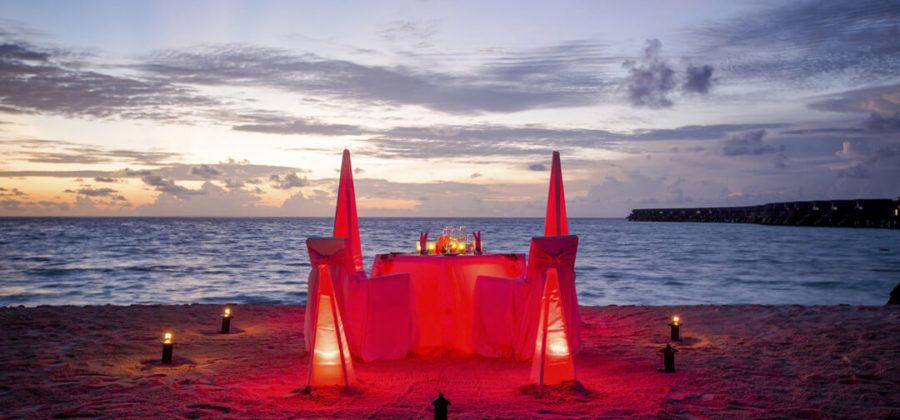 Centara Ras Fushi Romantic Dinner