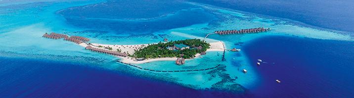 Constance Moofushi Insel von oben