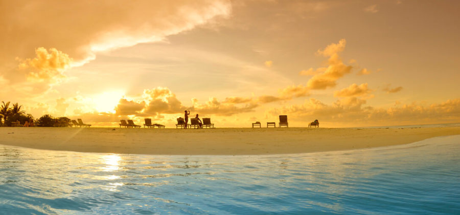 Fun Island Sonnenuntergang