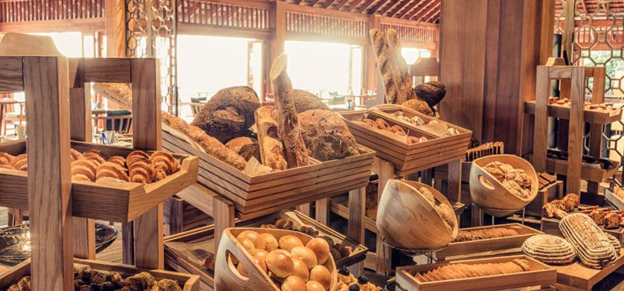 Hurawalhi Canneli Restaurant Frühstück
