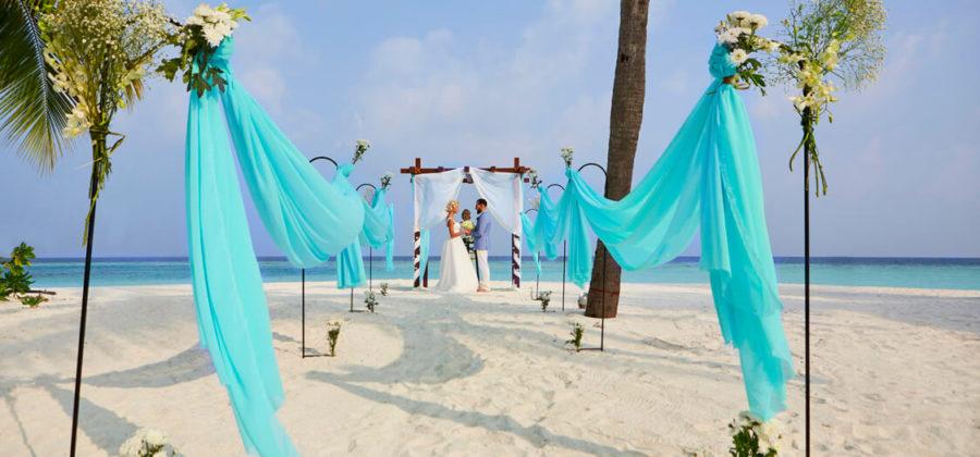 Hurawalhi Hochzeit Trauung