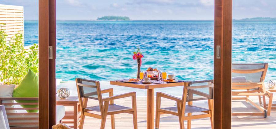 Hurawalhi Ocean Pool Villa Aussicht