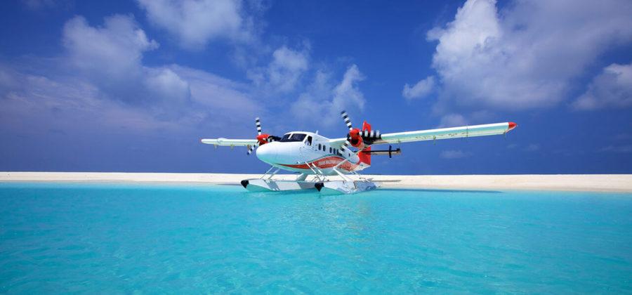 Hurawalhi Wasserflugzeug