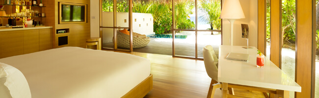 Huvafen Fushi Beach Bungalow With Pool