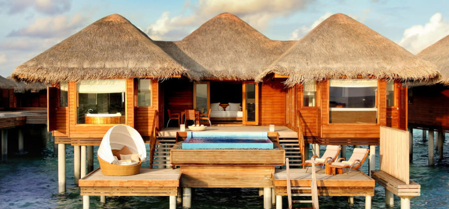 Huvafen Fushi Ocean Bungalow with Pool