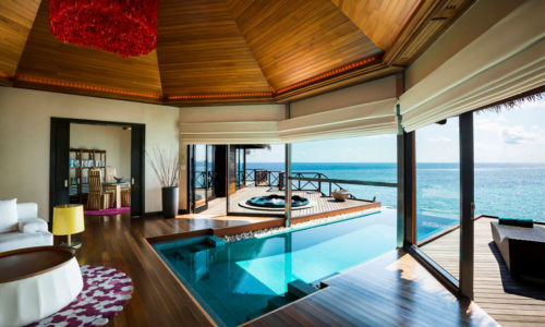 Huvafen Fushi Ocean Pavillon Interior