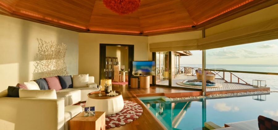 Huvafen Fushi Two Bedroom Ocean Villa with Pool