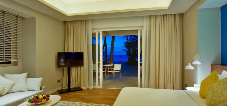 Kandima Beach Villa with Jacuzzi Aussicht