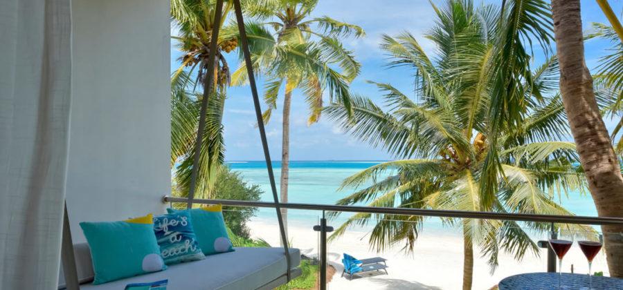 Kandima Sky and Beach Studio Balkon