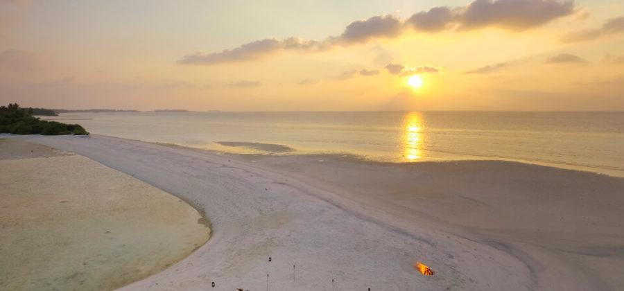 Kandima Strand Sonnenuntergang