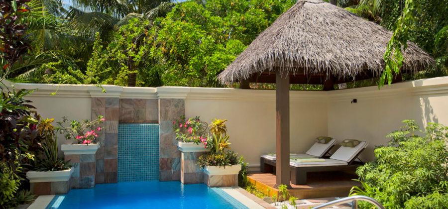 Kurumba Deluxe Pool Villa Garten