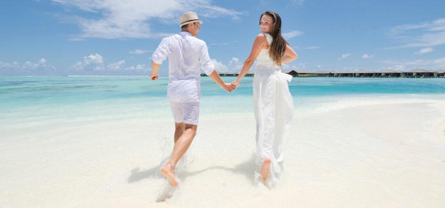 Paradies Island Hochzeit