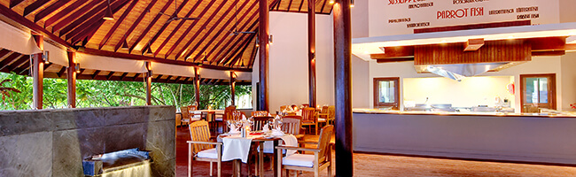 Robinson Club Maldives ala Carte Restaurant