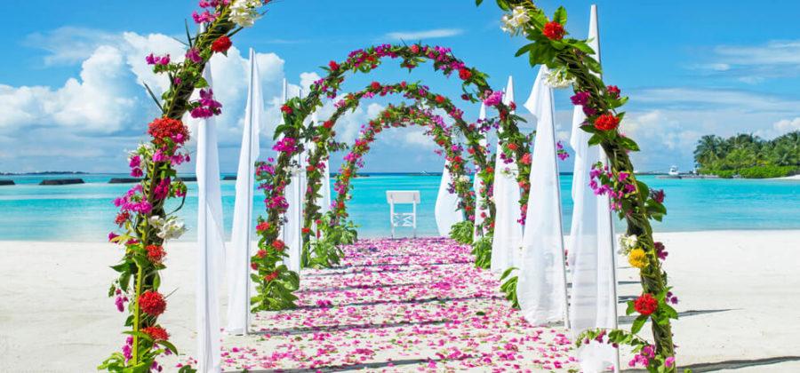 Sheraton Maldives Hochzeit