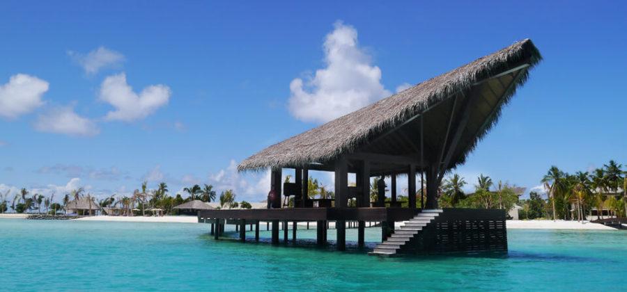 The Residence Maldives Ankunftssteg