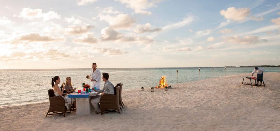 The Residence Maldives Beach BBQ