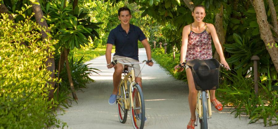 The Residence Maldives Fahrrad
