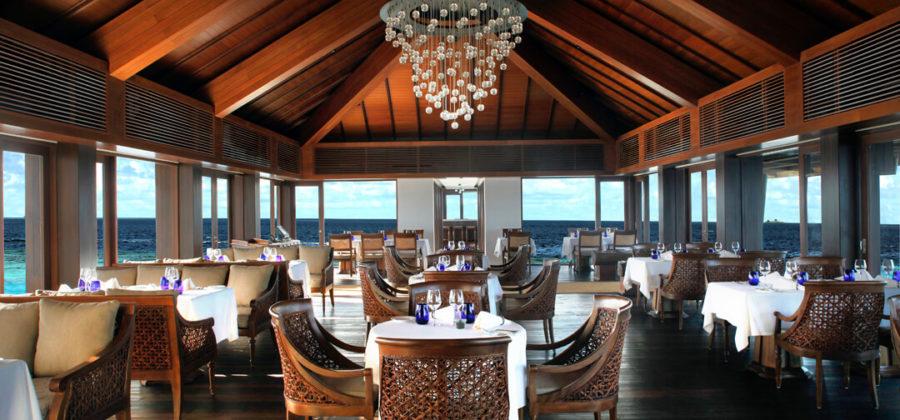 The Residence Maldives Falhumaa Interior