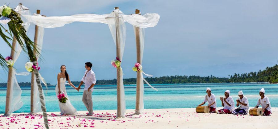 The Residence Maldives Hochzeit