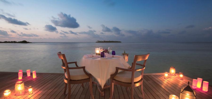 The Residence Maldives In Villa Dining