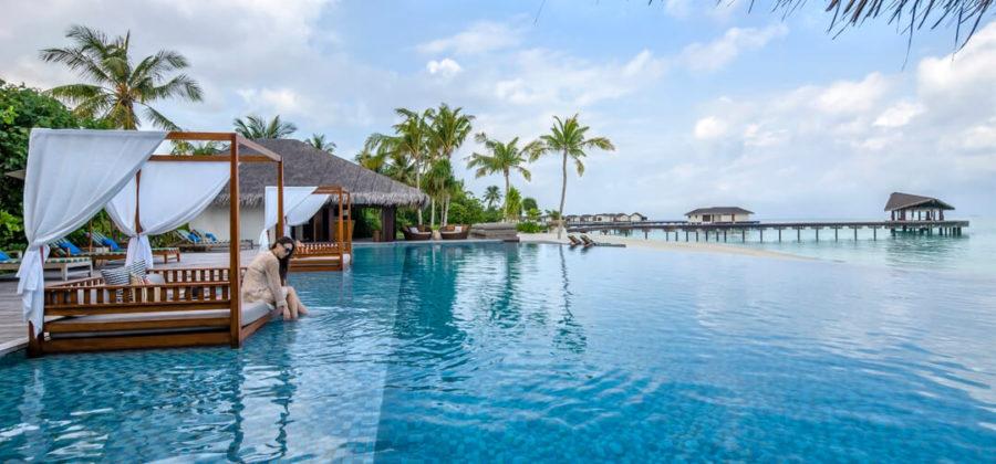 The Residence Maldives Pool Cabanas