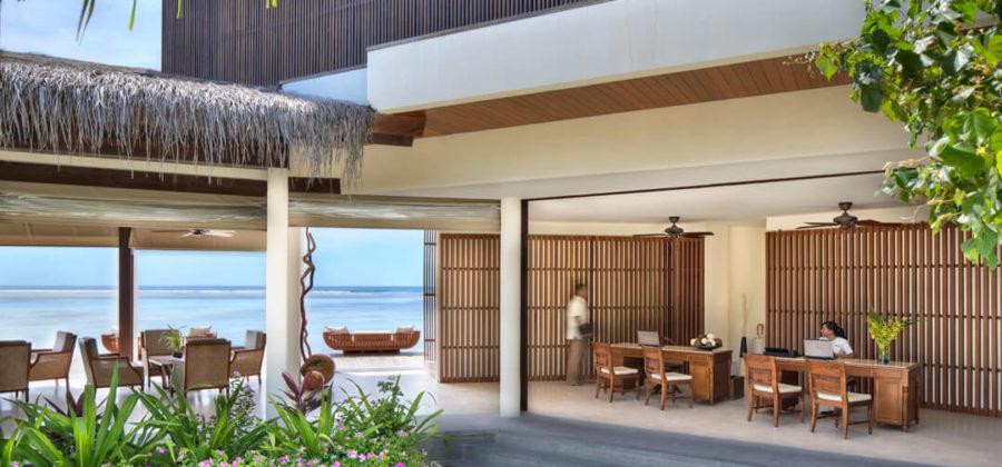 The Residence Maldives Rezeption