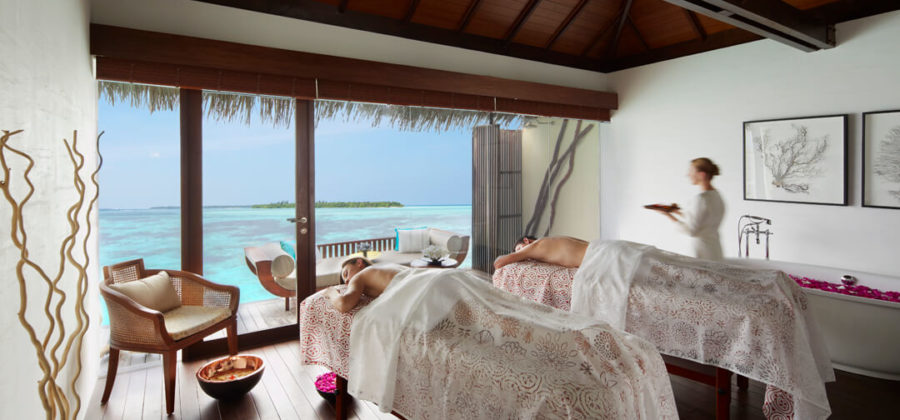 The Residence Maldives Spa Behandlung