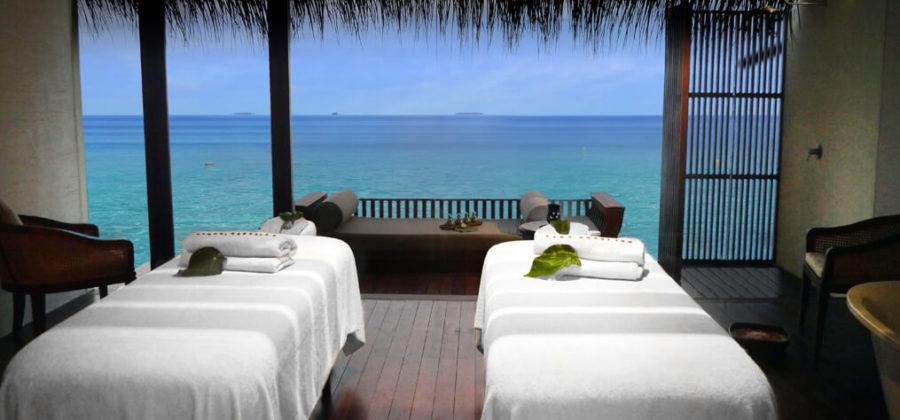 The Residence Maldives Spa Behandlungsraum