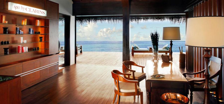 The Residence Maldives Spa Rezeption