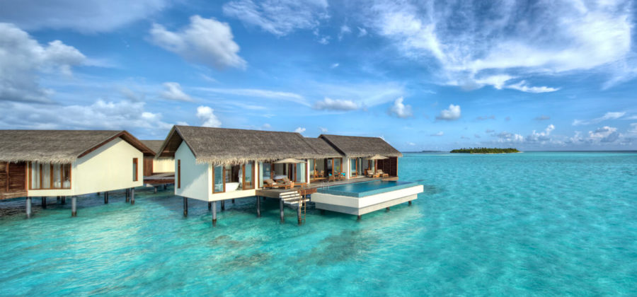 The Residence Maldives Two Bedroom Water Pool Villa