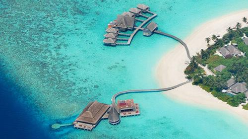 Die Top 8 Resorts mit Wasservilla