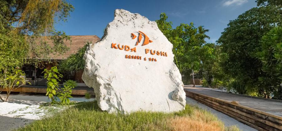 Kudafushi Resort und Spa Ankunft
