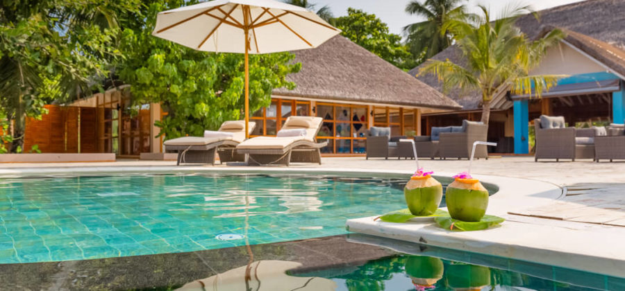 Kudafushi Resort und Spa Juju Pool