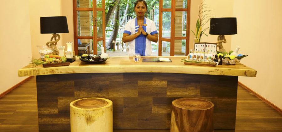 Kudafushi Resort und Spa Spa Empfang