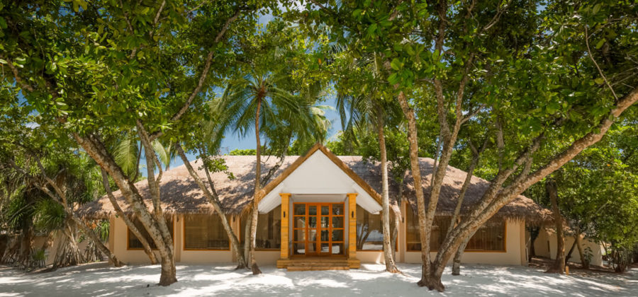 Kudafushi Resort und Spa Spa von Aussen
