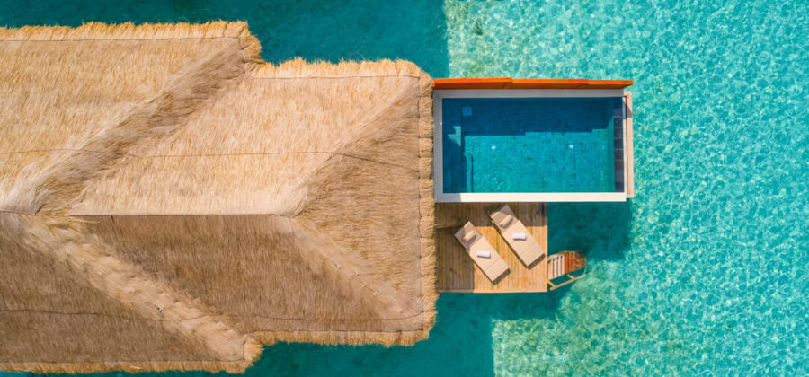 Kudafushi Resort und Spa Water Villa mit Pool