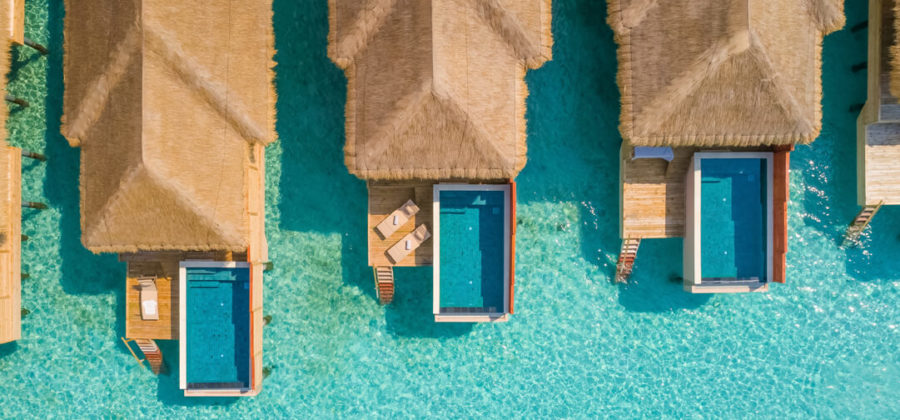Kudafushi Resort und Spa Water Villas mit Pool