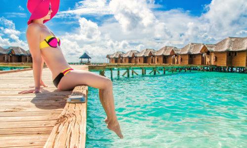 9 Tage zu dritt im Olhuveli Beach & Spa Resort (4*) mit All Inclusive, inkl. Flug & Transfer