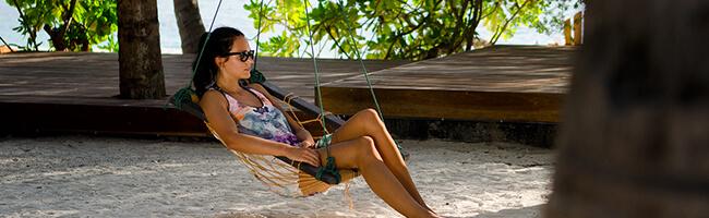 Summer Island Maldives Haengematte