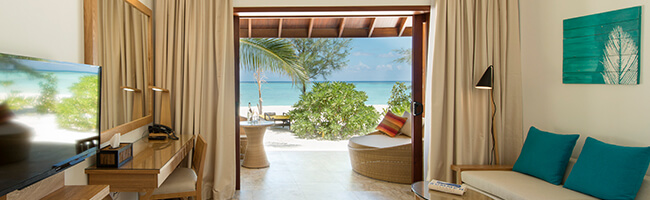 Smmer Island Maldives Premium Beach Villa Interior
