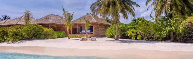 Hurawalhi Beach Villa von Aussen