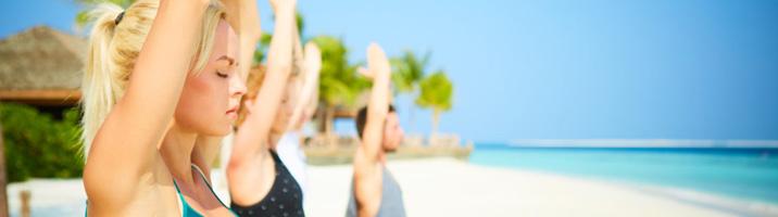 Hurawalhi Yoga Gruppe